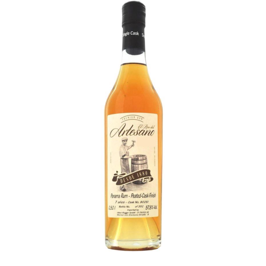 Bottle image of Panama Rum Peated-Cask-Finish