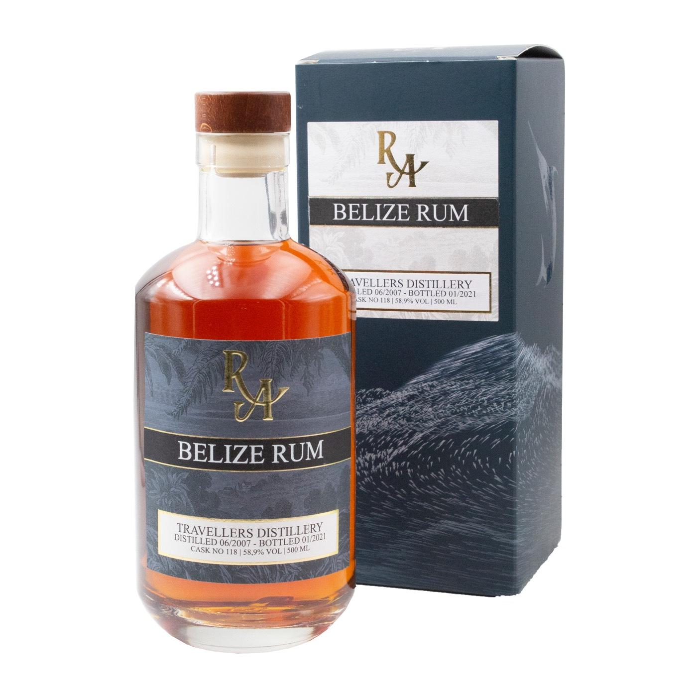 Bottle image of Rum Artesanal Belize Rum MBT