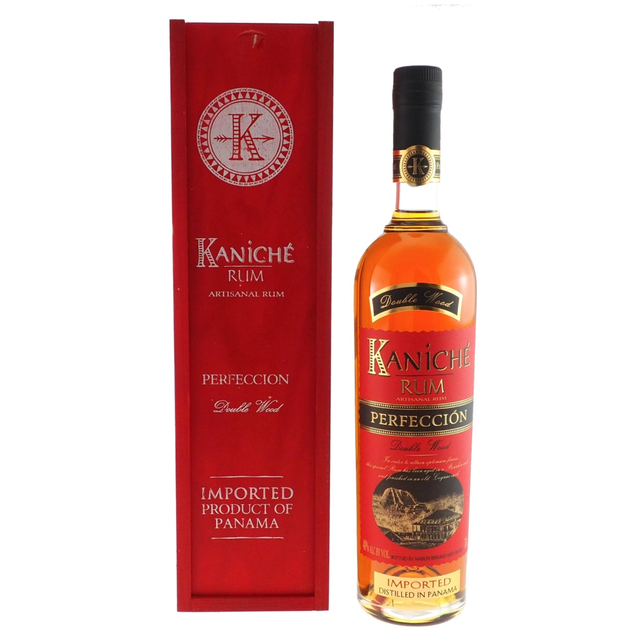 Bottle image of Kaniché Double Wood Perfección