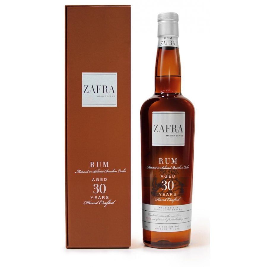 Bottle image of Zafra Master Series Aged 30 Years