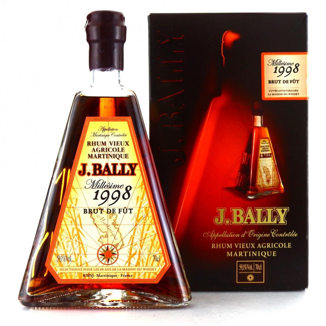 Bottle image of J. Bally Millésime 1998