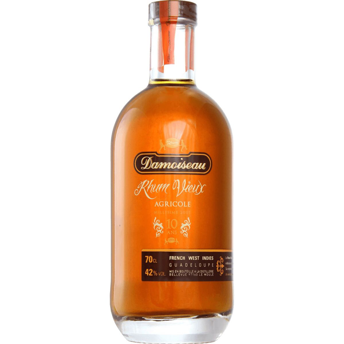 Bottle image of Rhum Vieux Agricole 10 Ans
