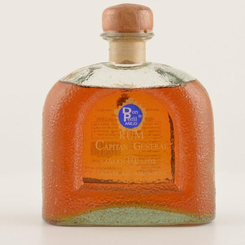 Bottle image of Capitan General Anejo 10 anos