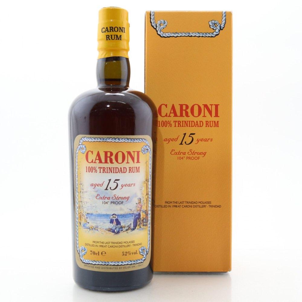 Bottle image of 100% Trinidad Rum 15 HTR