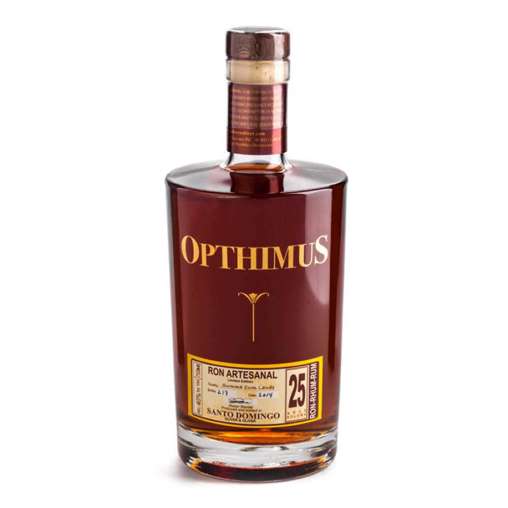 Bottle image of Opthimus 25 Años