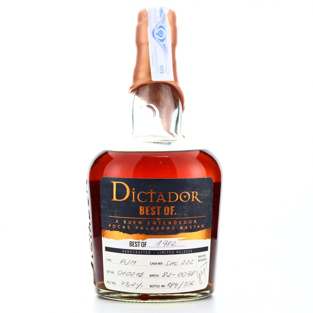 Bottle image of Dictador Best Of