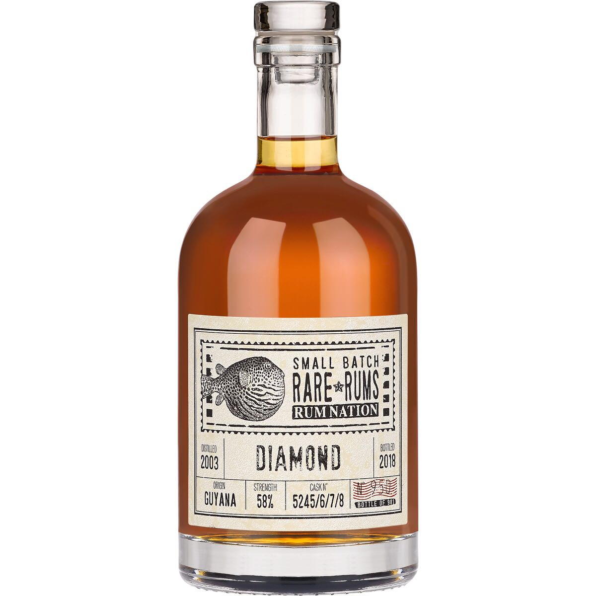 Bottle image of Small Batch Rare Rums SXG
