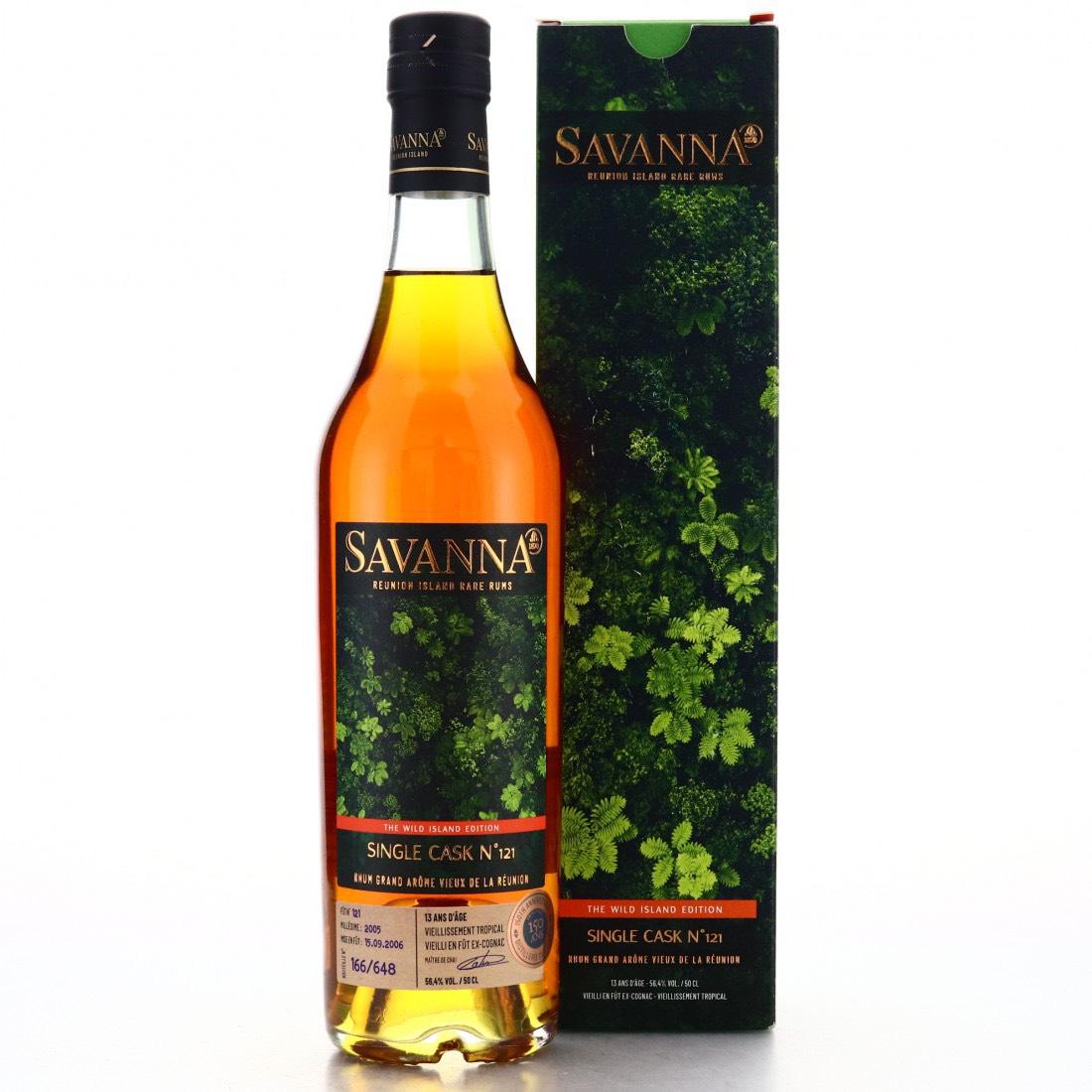 Bottle image of Savanna The Wild Island Edition - Rhum Grand Arôme Vieux