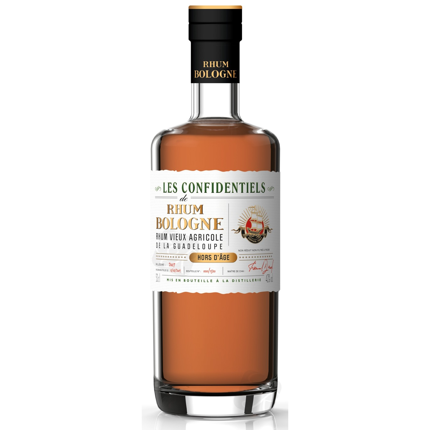 Bottle image of Les Confidentiels Hors d'Âge