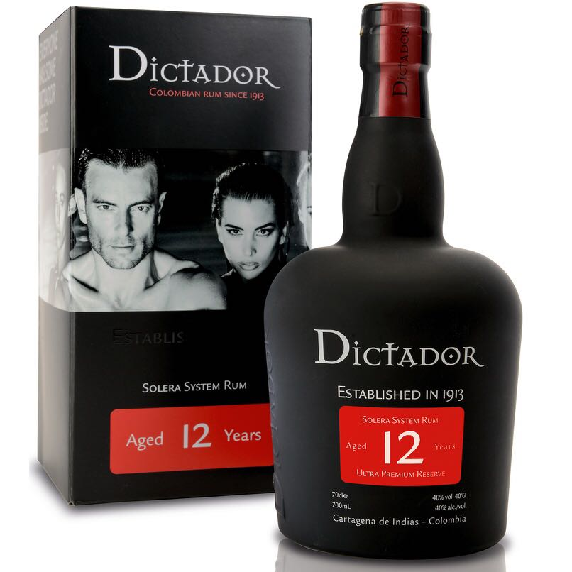 Bottle image of Dictador 12 Years