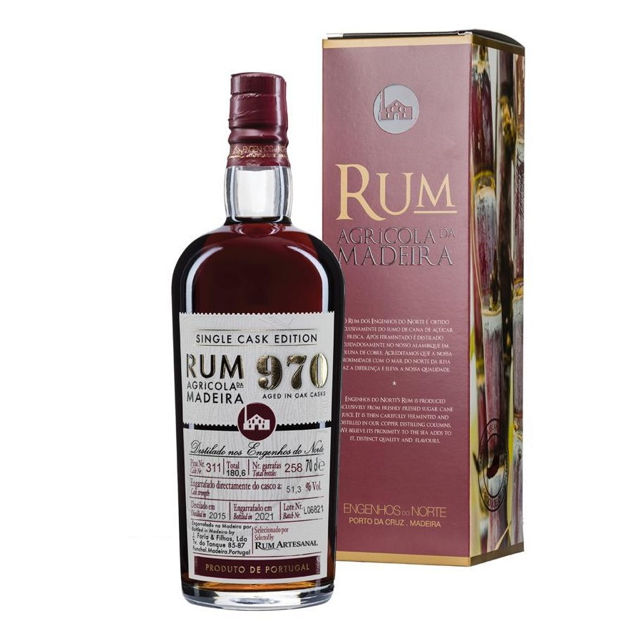 Bottle image of 970 Single Cask Edition Selected by Rum Artesanal