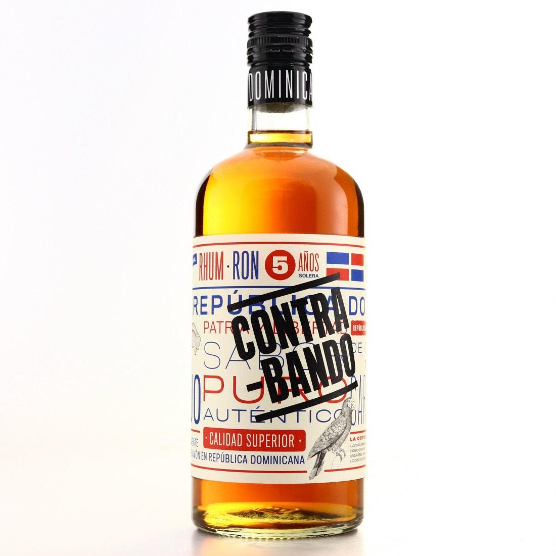 Bottle image of Contrabando