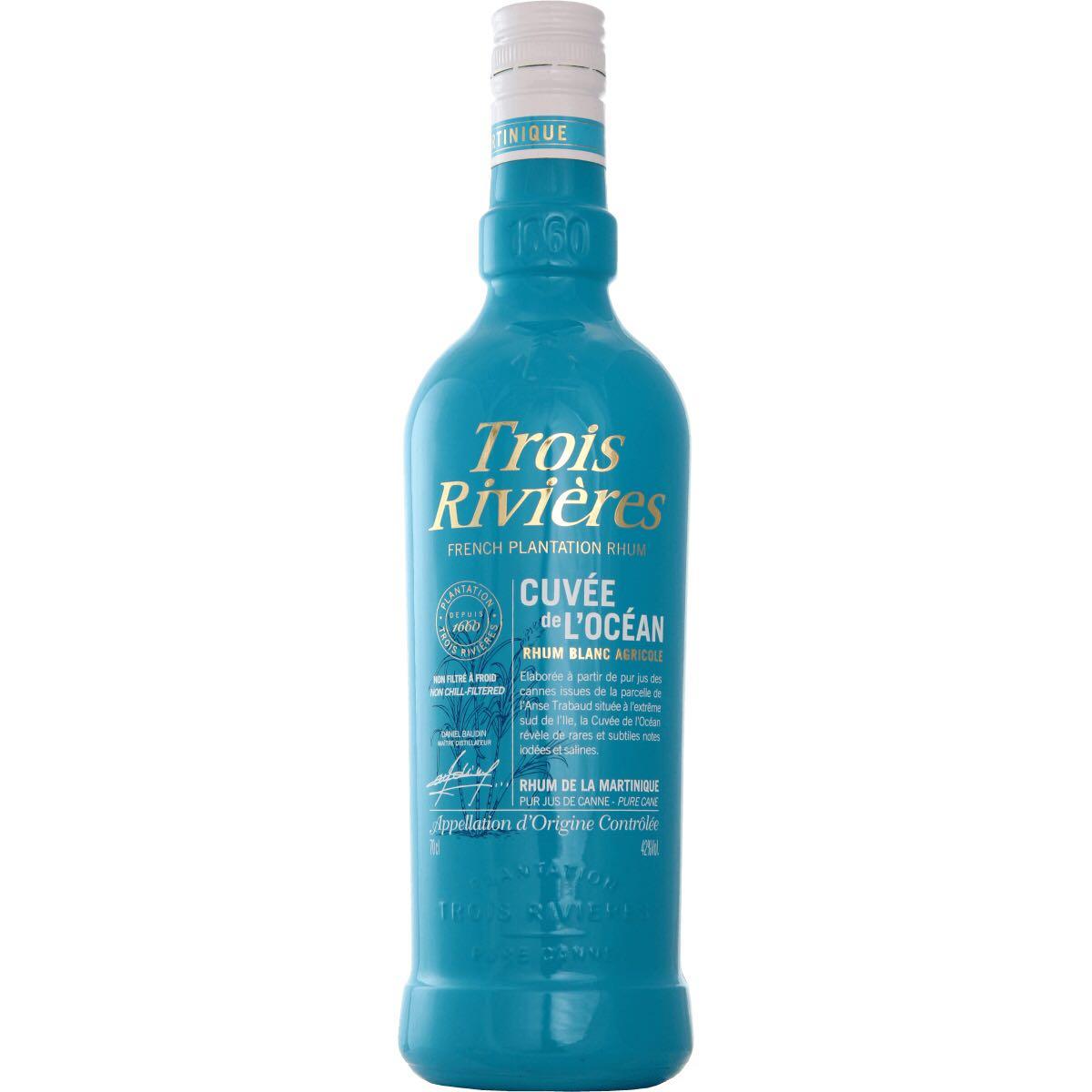 Bottle image of Rhum Cuvée de l'Océan