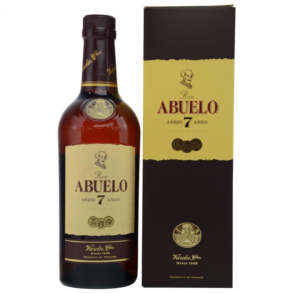 Bottle image of Abuelo 7 Años
