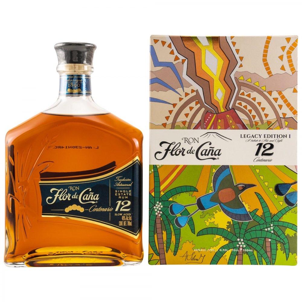 Bottle image of Flor de Caña 12 Años