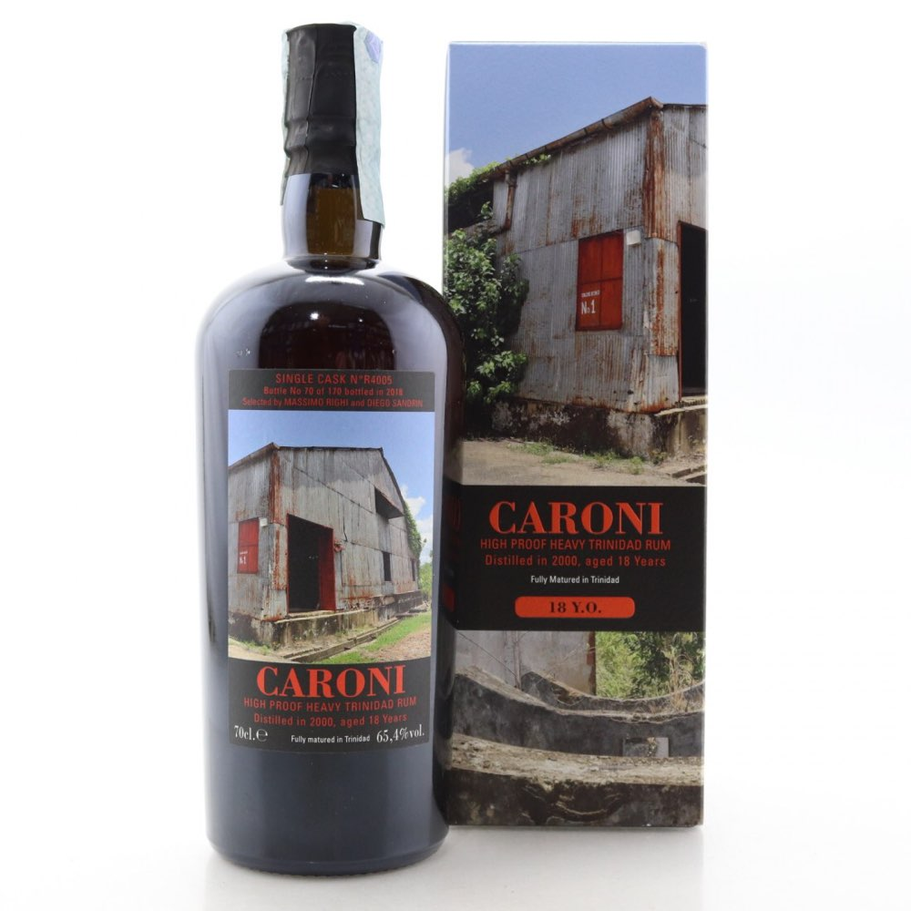 Bottle image of High Proof Heavy Trinidad Rum (Lion's Whisky) HTR