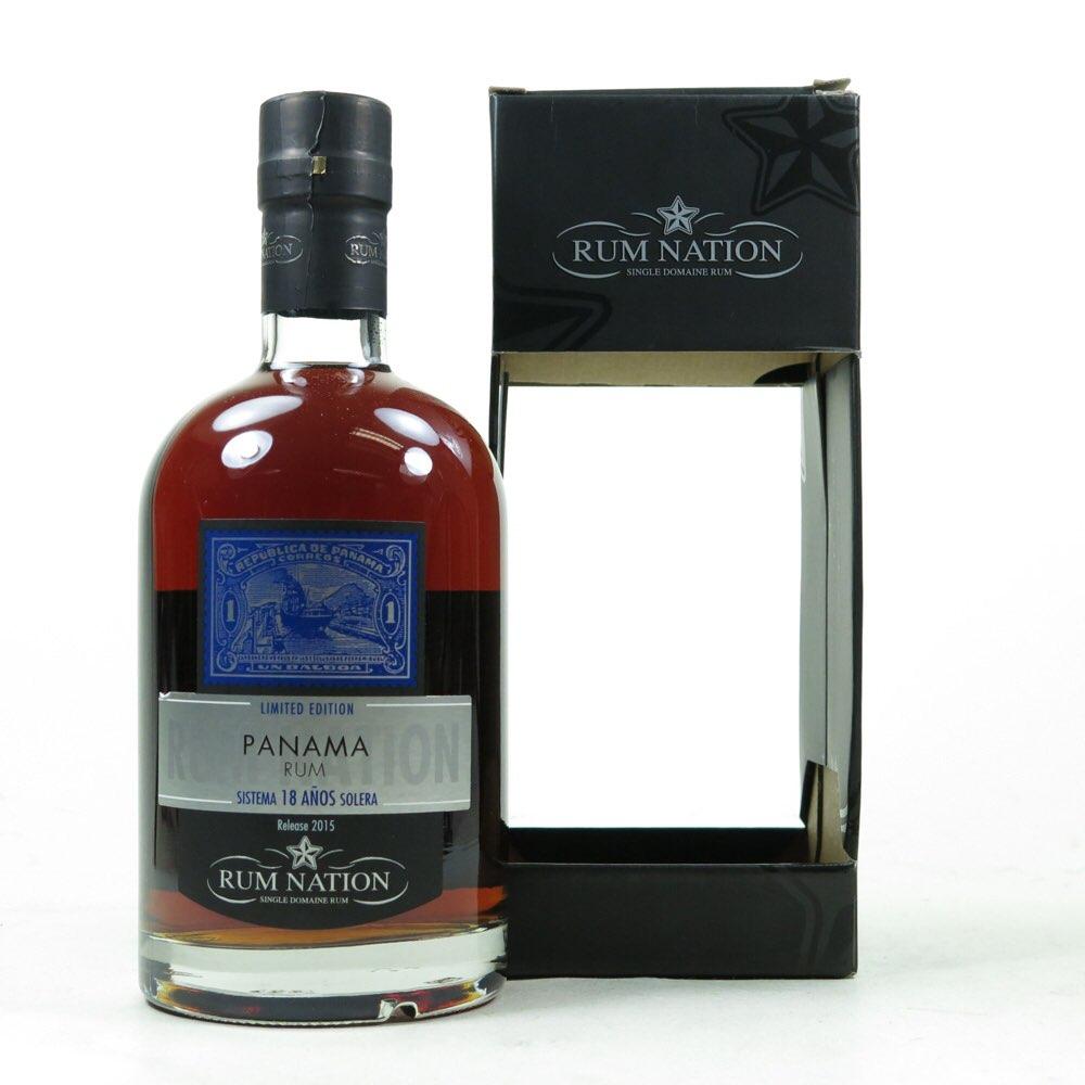 Bottle image of Panama Sistema Solera 18 Años 2016
