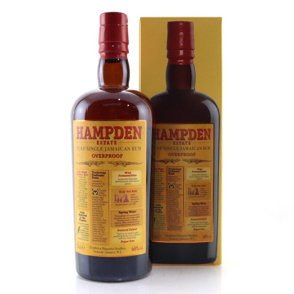 Bottle image of Pure Single Jamaican Rum Overproof