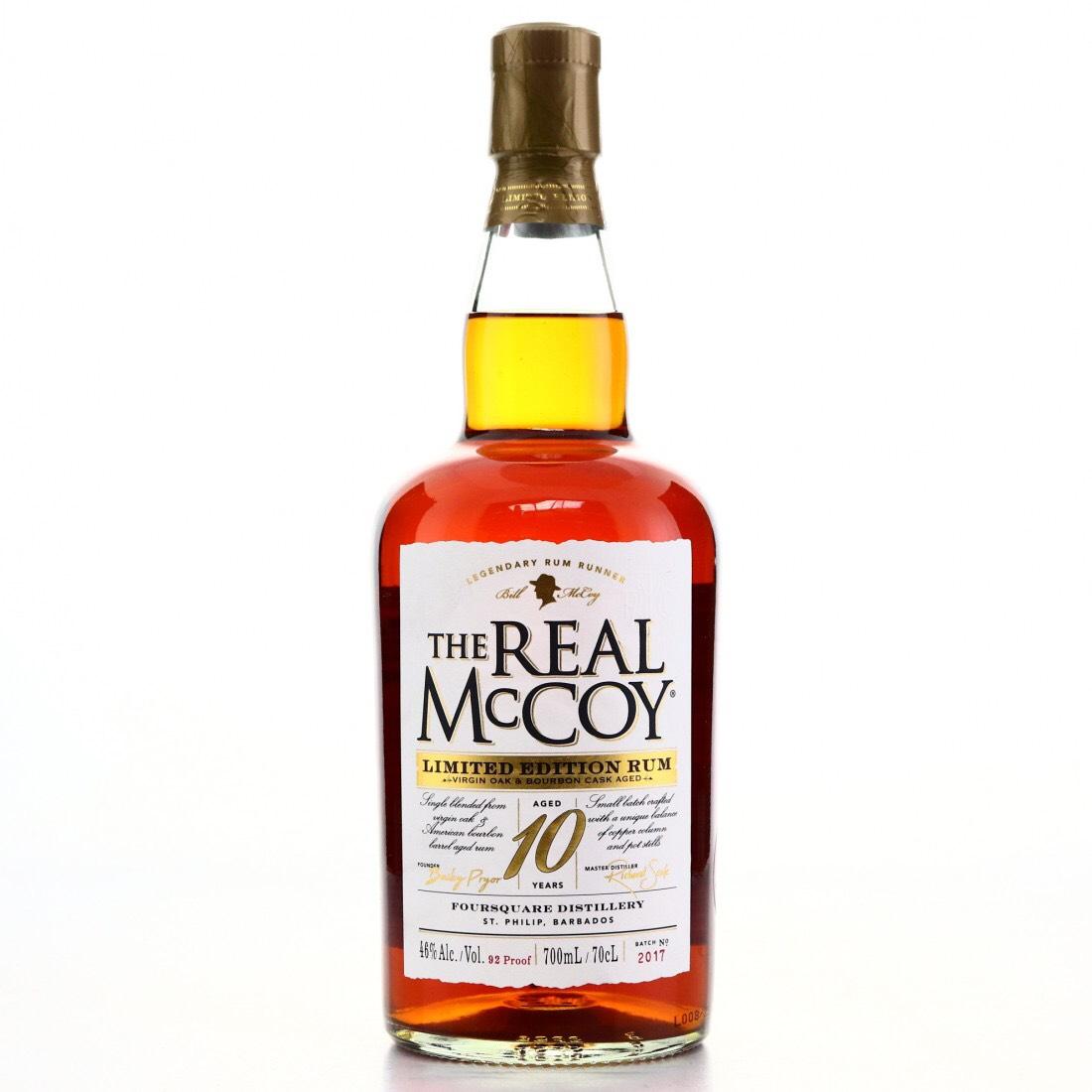 Bottle image of The Real McCoy Limited Edition Rum (Virgin Oak)