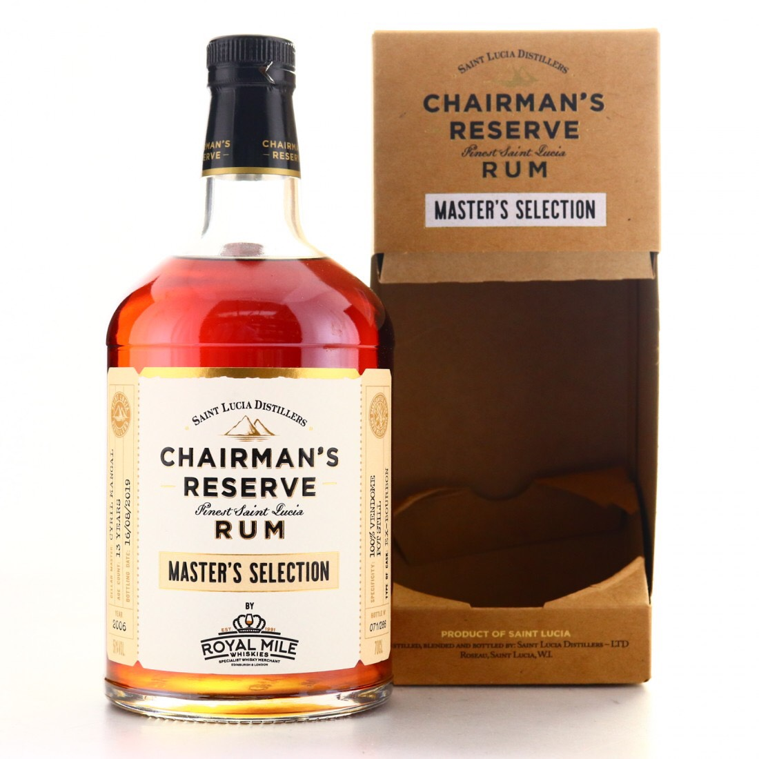 Bottle image of Chairman's Reserve Master's Selection (Royal Mile Whiskies)