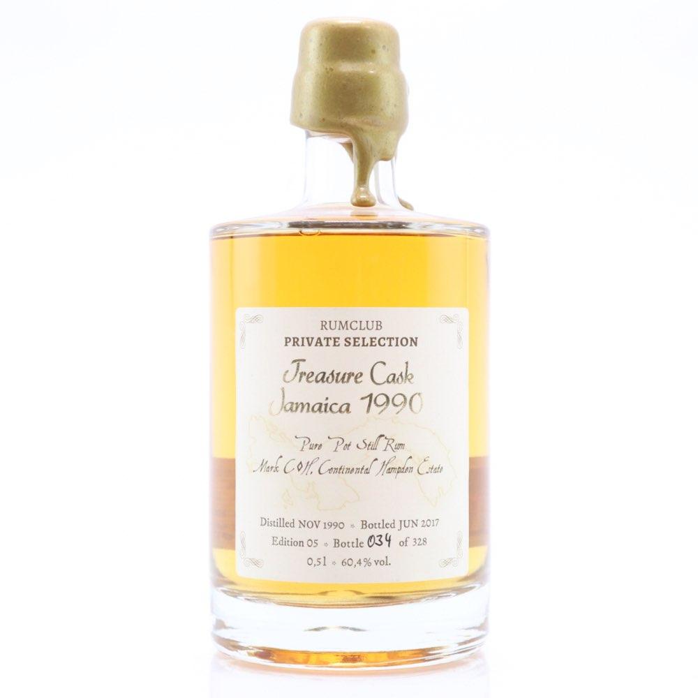 Bottle image of Rumclub Private Selection Ed. 05 Treasure Cask Jamaica C<>H