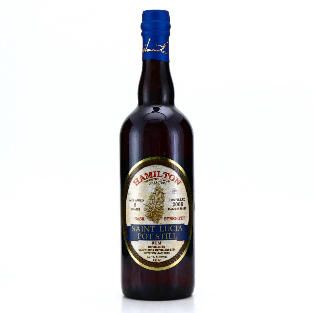 Bottle image of Hamilton Saint Lucia Pot Still