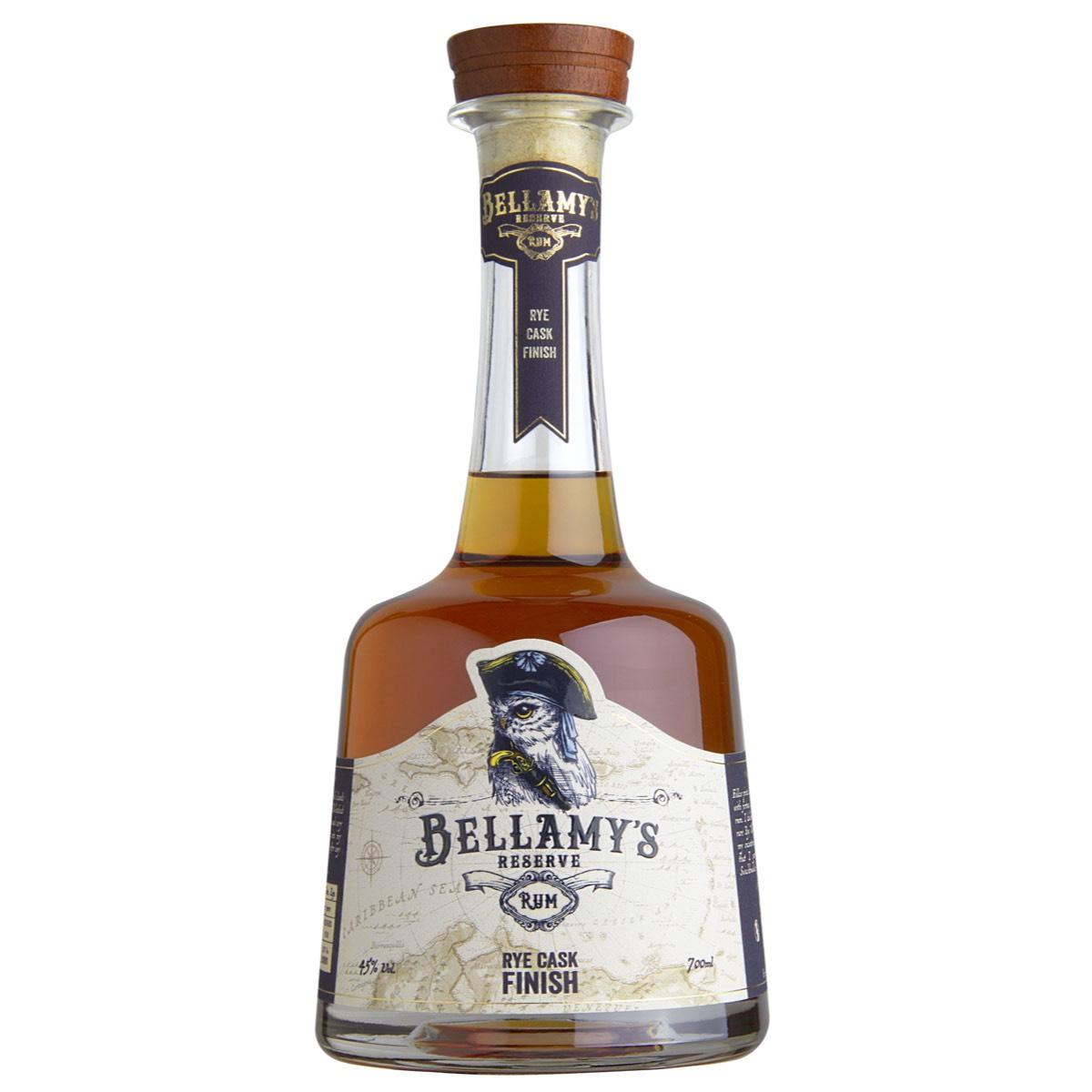 Bottle image of Bellamy's Reserve Rum Rye Cask Finish