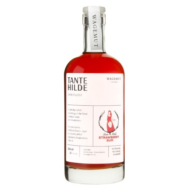 Bottle image of Strawberry Rum