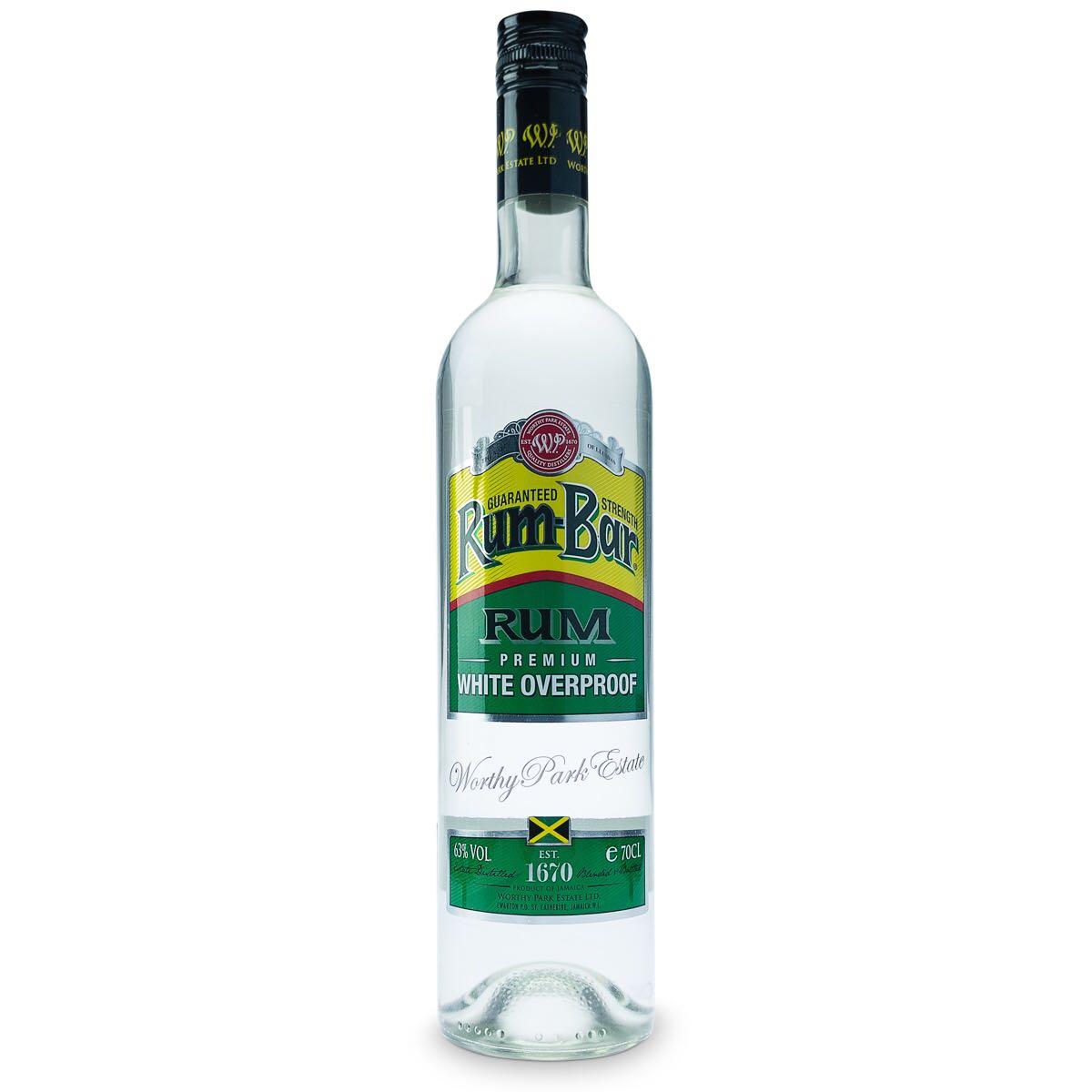Bottle image of Rum-Bar White Overproof