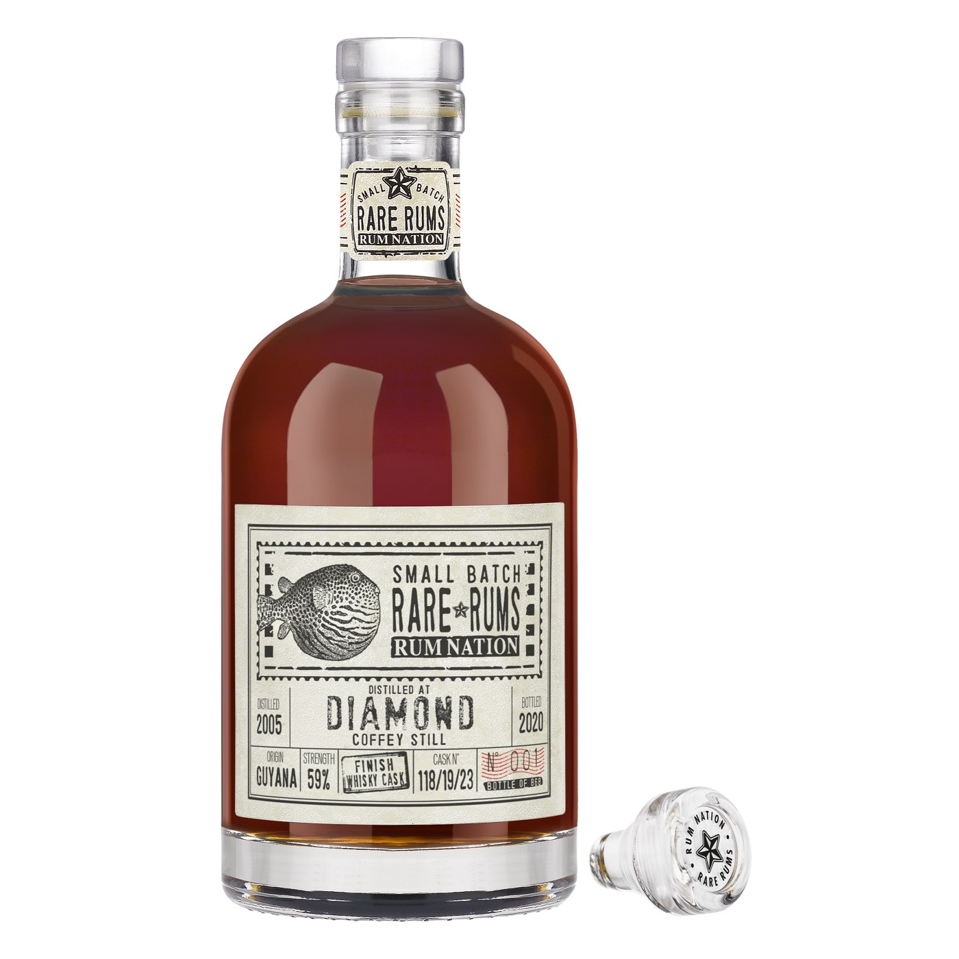 Bottle image of Small Batch Rare Rums SV