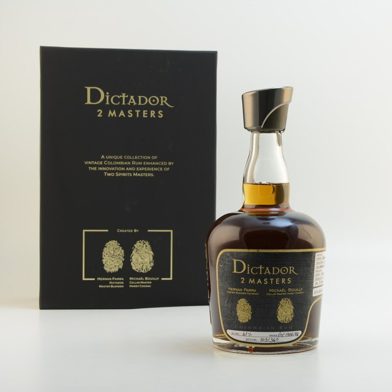Bottle image of Dictador 2 Masters 1976/1978 (Hardy Cognac)