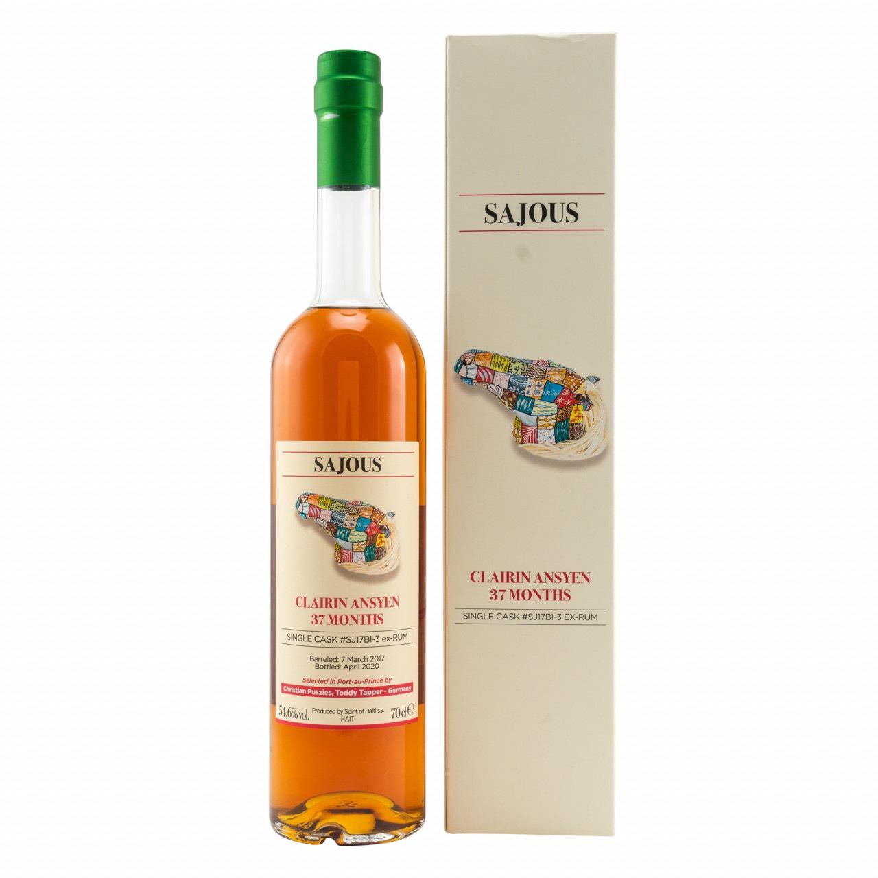Bottle image of Clairin Ansyen Sajous (Bielle Cask)