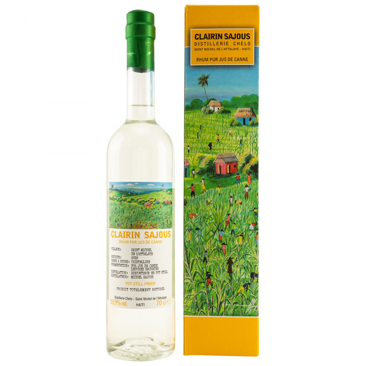Bottle image of Clairin Sajous