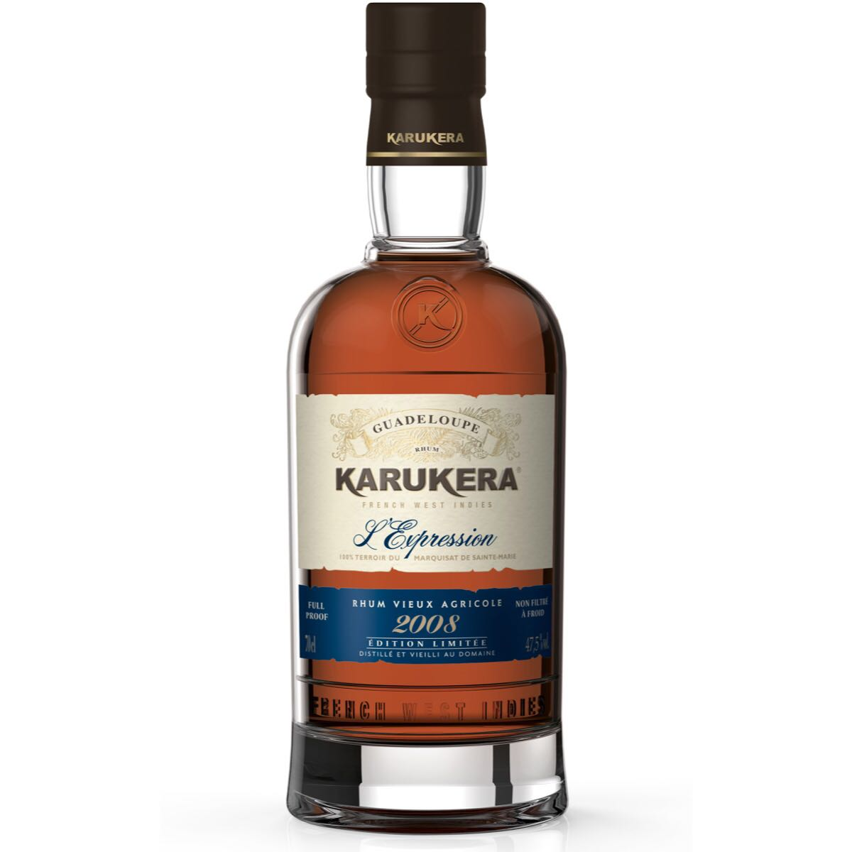 Bottle image of Karukera Millésime L'Expression