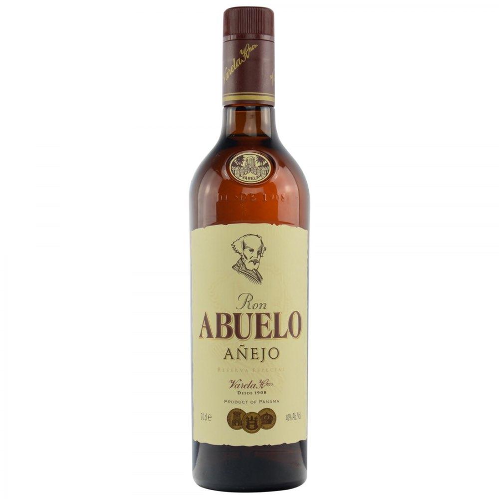 Bottle image of Abuelo Añejo