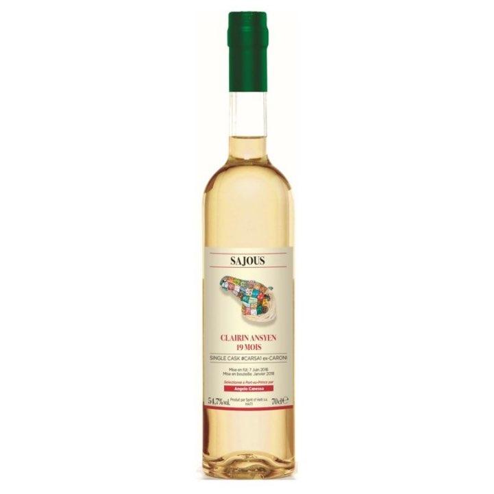 Bottle image of Clairin Ansyen Sajous 19 mois #CARSA1
