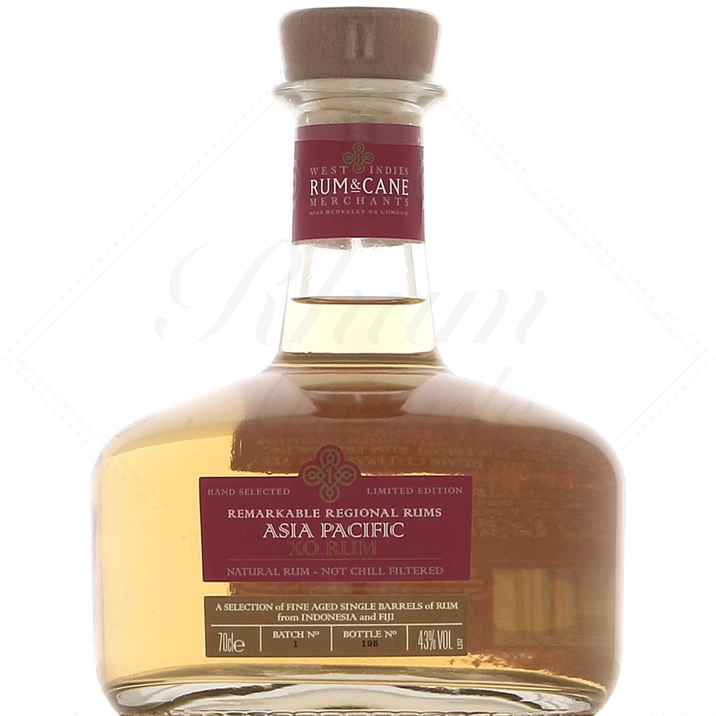 Bottle image of Rum & Cane Asia Pacific XO