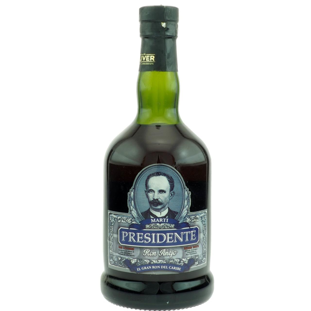 Bottle image of Presidente Marti Gran Añejo Solera Presidente