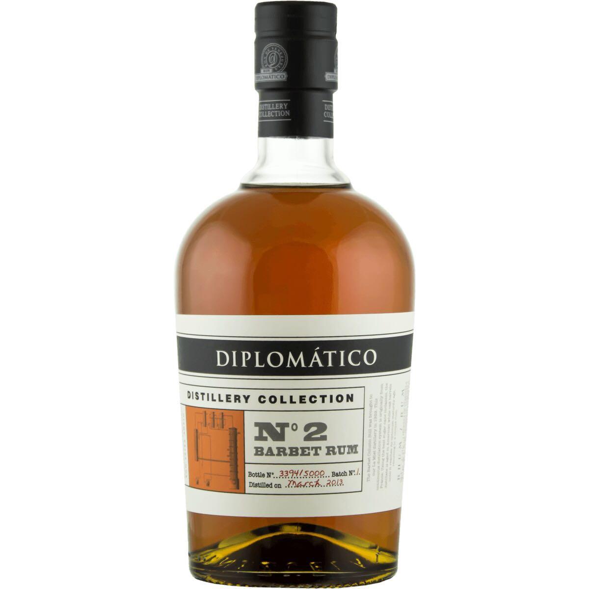 Bottle image of Diplomático / Botucal No. 2 Single Barbet Column Rum