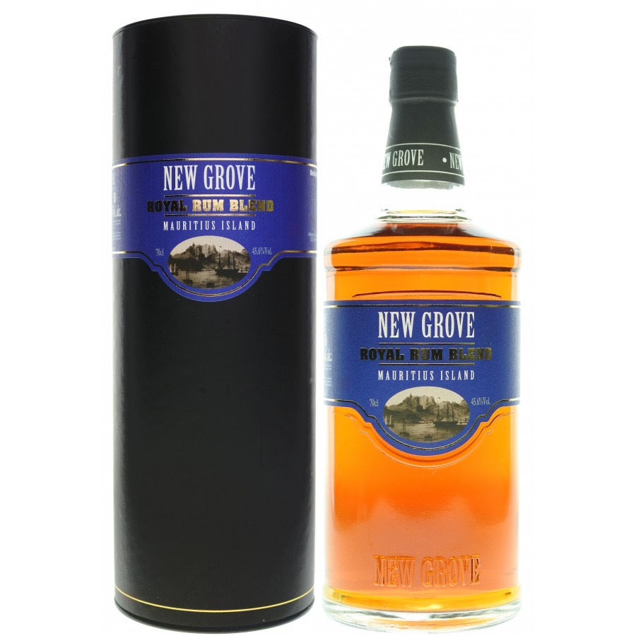 Bottle image of New Grove Royal Rum Blend (60th Anniversary of LMDW)