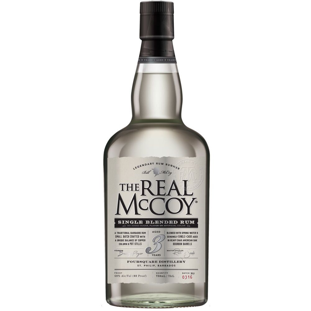 Bottle image of The Real McCoy 3 Years