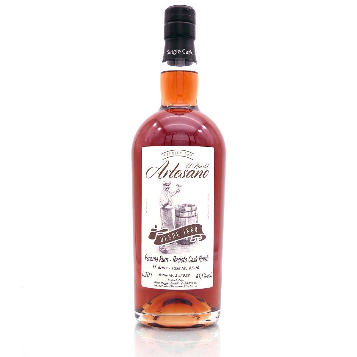 Bottle image of Panama Rum - Recioto Cask Finish