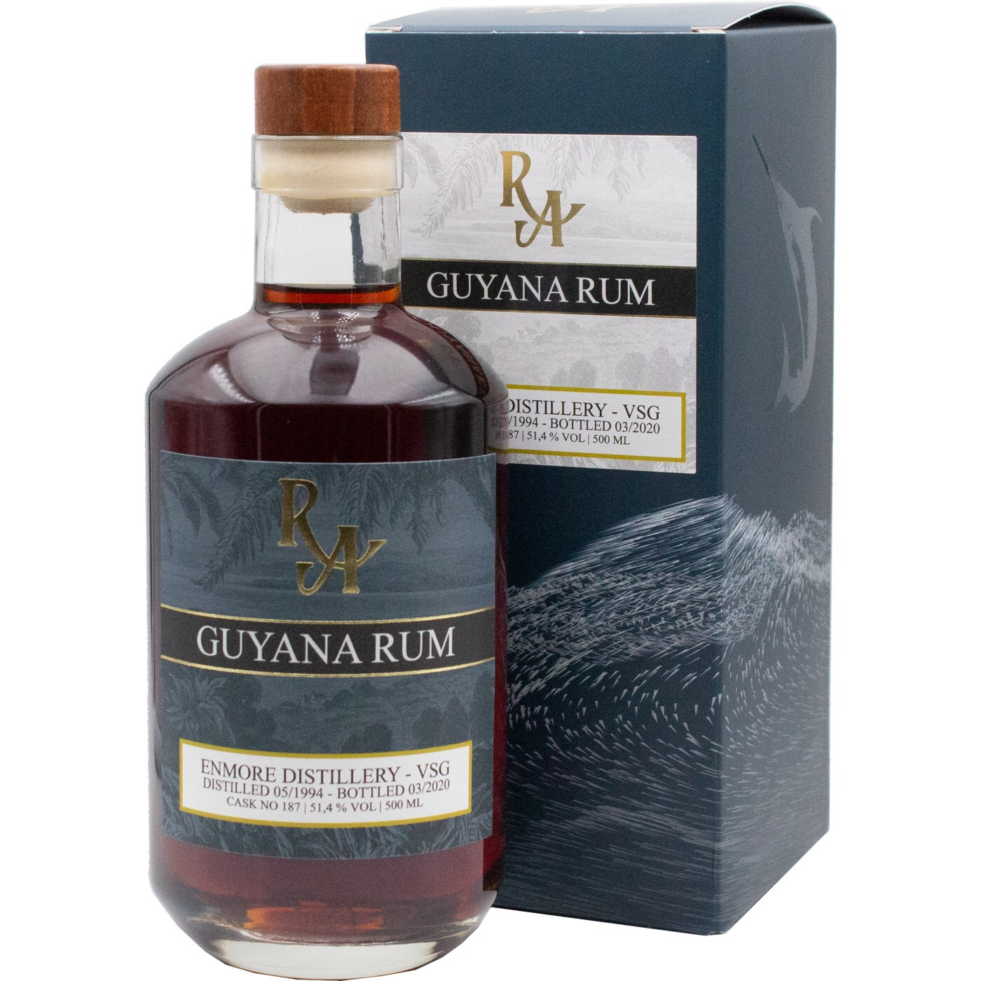 Bottle image of Rum Artesanal Guyana Rum REV