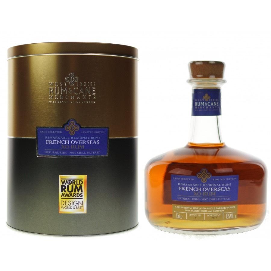 Bottle image of Rum & Cane French Overseas XO