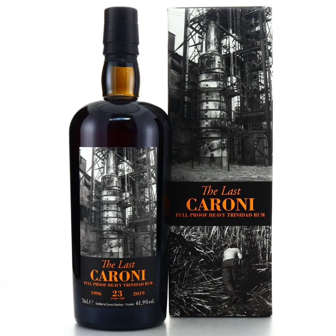 Bottle image of 39th Release The Last Heavy Trinidad Rum