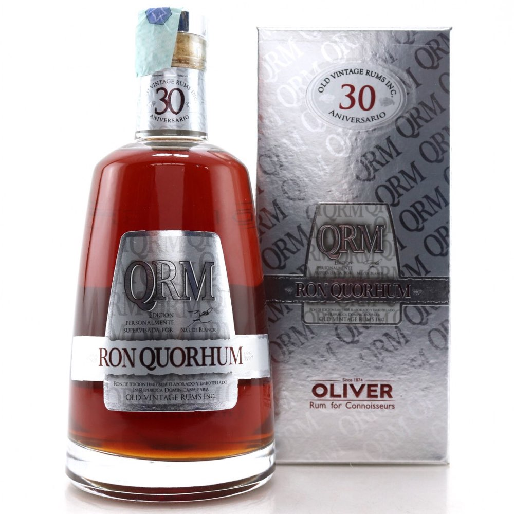 Bottle image of Ron Quorhum 30 Años Solera