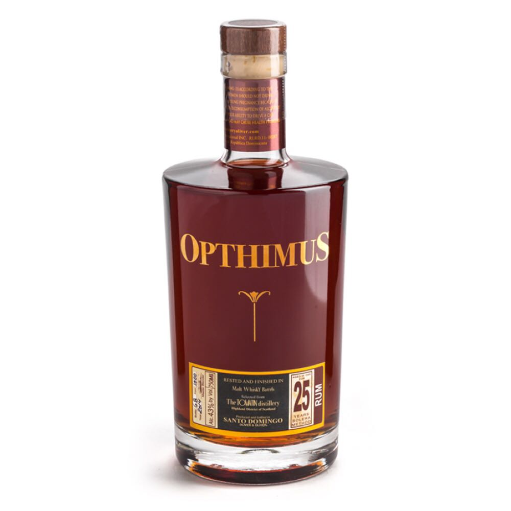Bottle image of Opthimus 25 Años Malt Whisky Finish