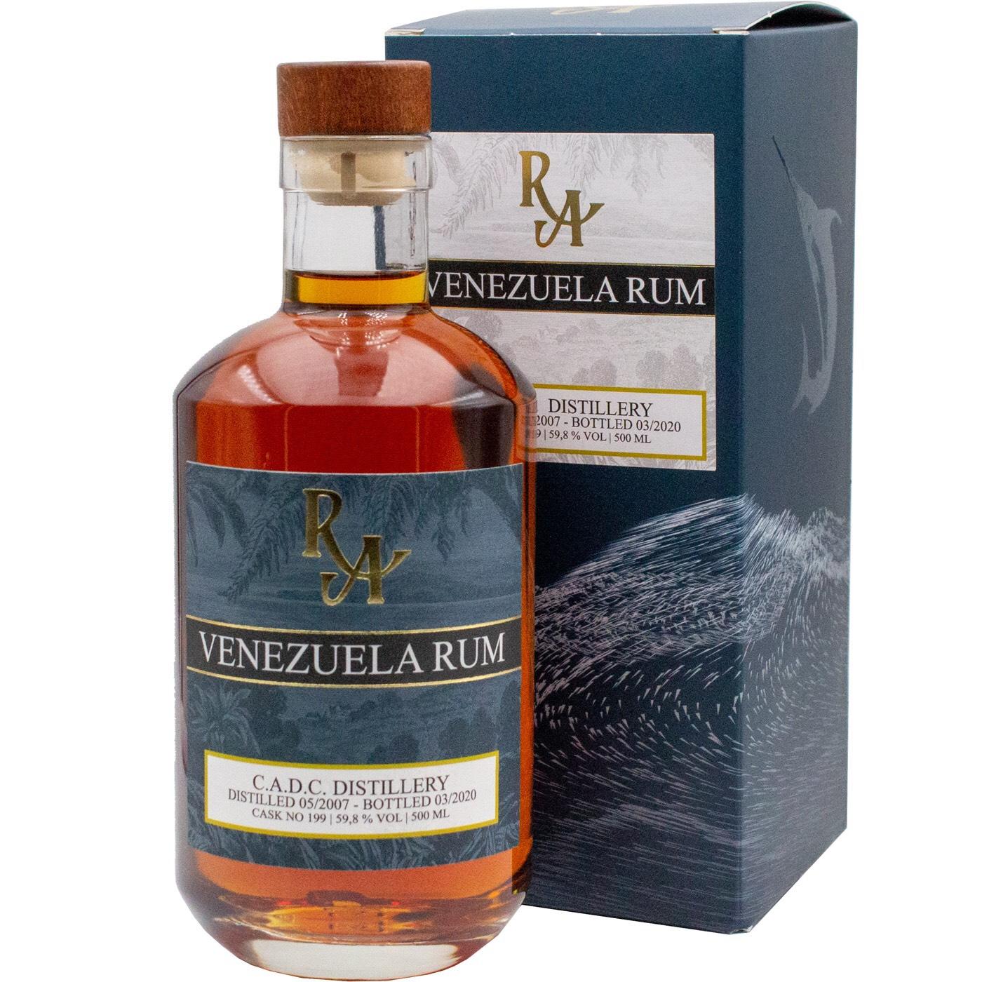 Bottle image of Rum Artesanal Venezuela Rum