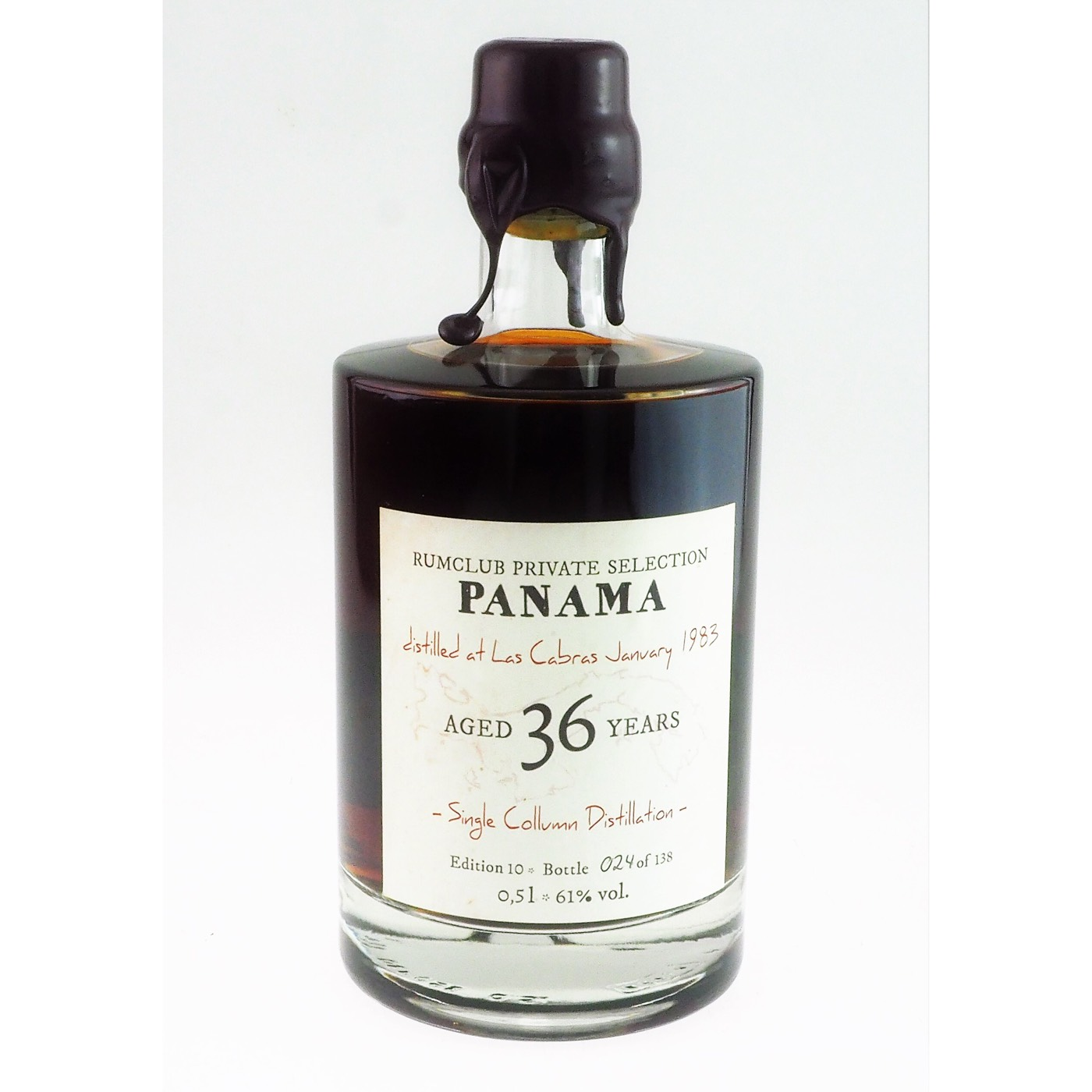 Bottle image of Rumclub Private Selection Ed. 10 Don Pancho Origenes