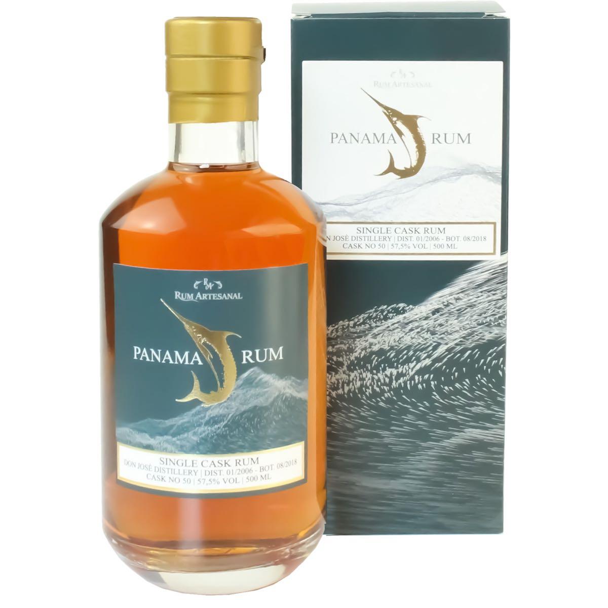 Bottle image of Rum Artesanal Panama Rum